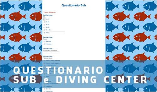 Questionario per la subacquea