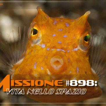 Missione #898. Vita nello spazio