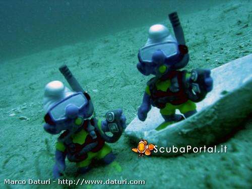 Esercizi di assetto in mare