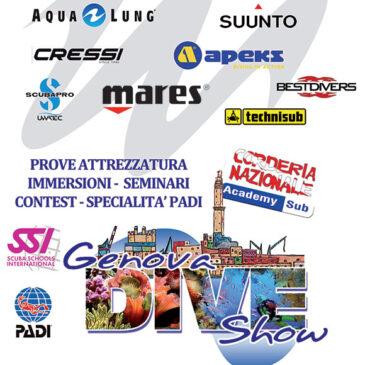 5-7 settembre: Genova Dive Show