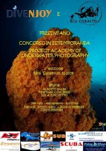 Project Academy of Underwater Photography, concorso fotografia estemporanea. @ Divenjoy diving center | Noli | Liguria | Italia