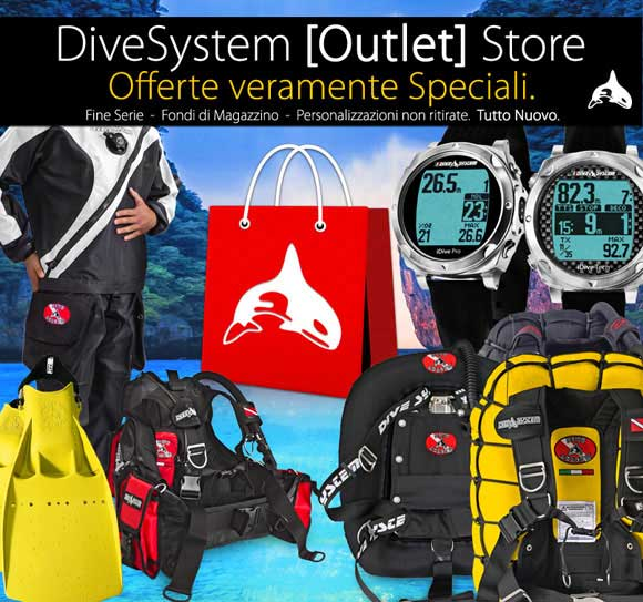 Nuovo divesystem outlet store scubazone - Dive system store ...