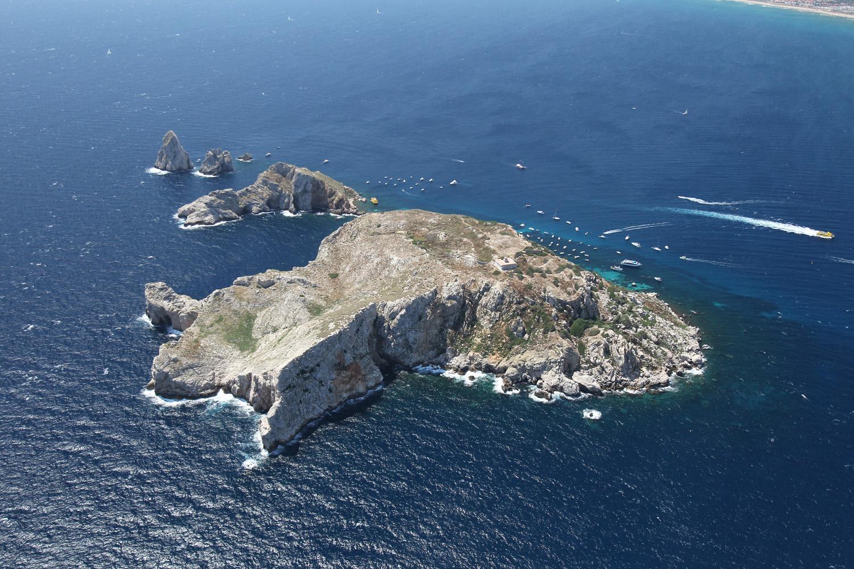 01-le isole dall'alto (foto Parco Marino)