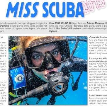 Miss Scuba 2015 su Scubazone 24