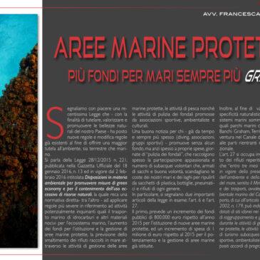 Aree marine protette: più fondi per mari sempre più green