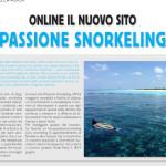 Online il nuovo sito Passione Snorkeling