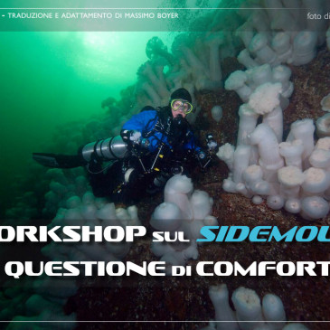 Workshop sul Sidemount – questione di comfort.
