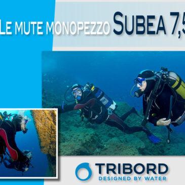Le mute monopezzo Subea 7,5 mm