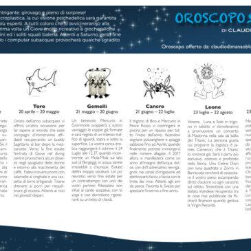 L'Oroscopo 2017 di Claudio Di Manao
