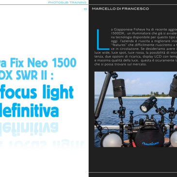 Nuova Fix Neo 1500 DX SWR II : La focus light definitiva