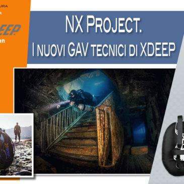 NX Project. I nuovi GAV tecnici di XDEEP