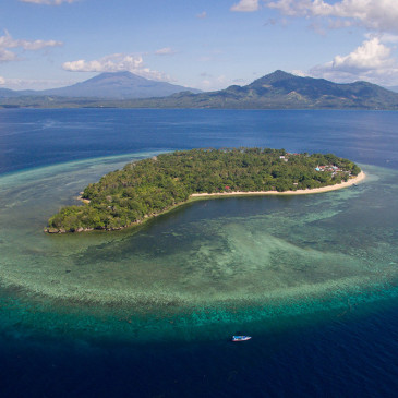 Siladen Island, Indonesia