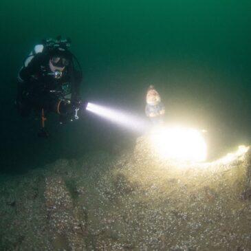 Torcia Tek 5. Ultima nata della gamma di illuminatori subacquei Dawosub
