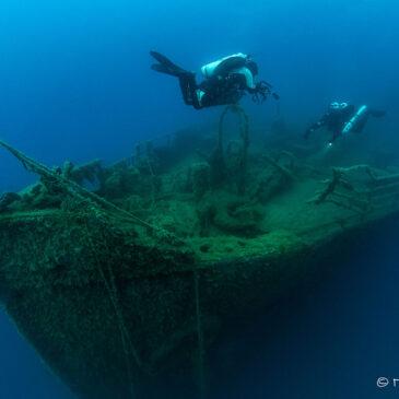 Il progetto sul relitto della nave ospedale Po