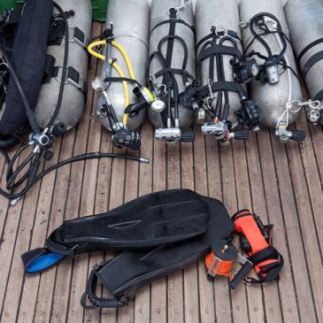 Come trasportare le bombole per autorespiratori subacquei – le norme da rispettare
