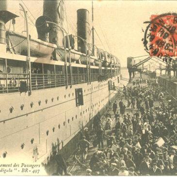 SS Burdigala, il relitto della prima classe tedesca