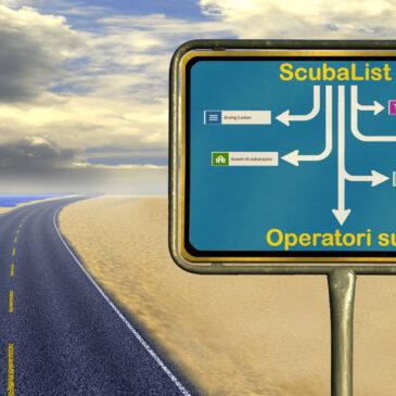 Scubalist: lista operatori sub
