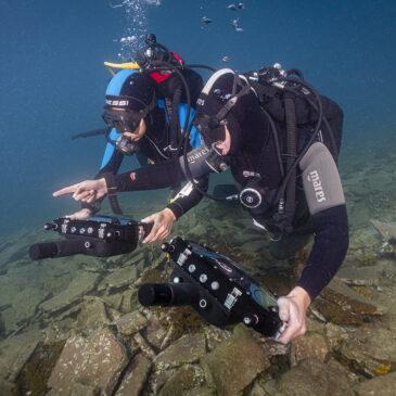 Esplorare i fondali marini con tablet e realtà aumentata