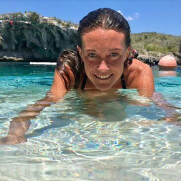 Alessia Zecchini lancia il suo sito web realizzato con ZeroPixel