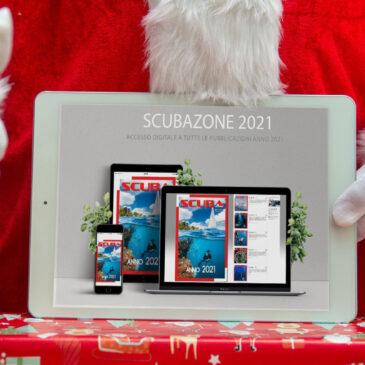 Natale: regala o fatti regalare un abbonamento 2021 a ScubaZone