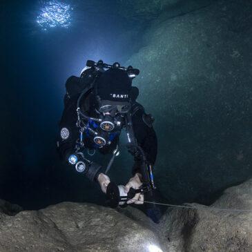 Cavern diver: attitudine alle immersioni