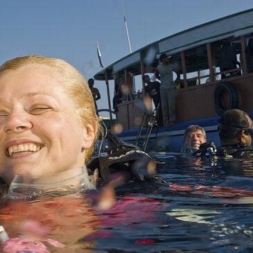 I benefici del mare e dell'attività subacquea