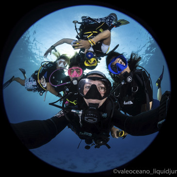 L'avventura (subacquea) è sempre più donna